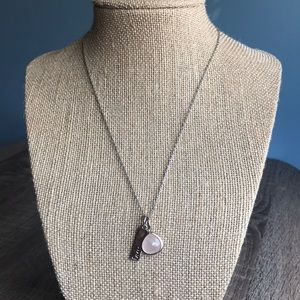 Love charity charm necklace